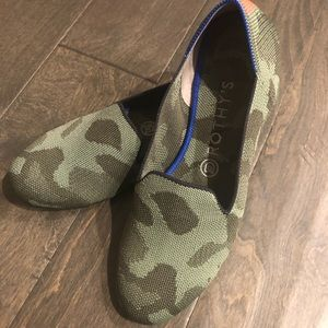 Rothy's Camo Loafers